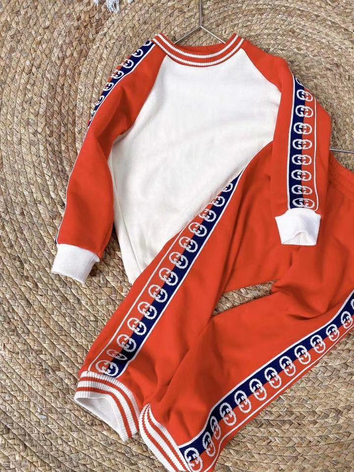 Algodón niños del bebé del resorte del otoño prendas de vestir para niñas nuevo juego del resorte sistemas de la ropa de la marca de moda infantil