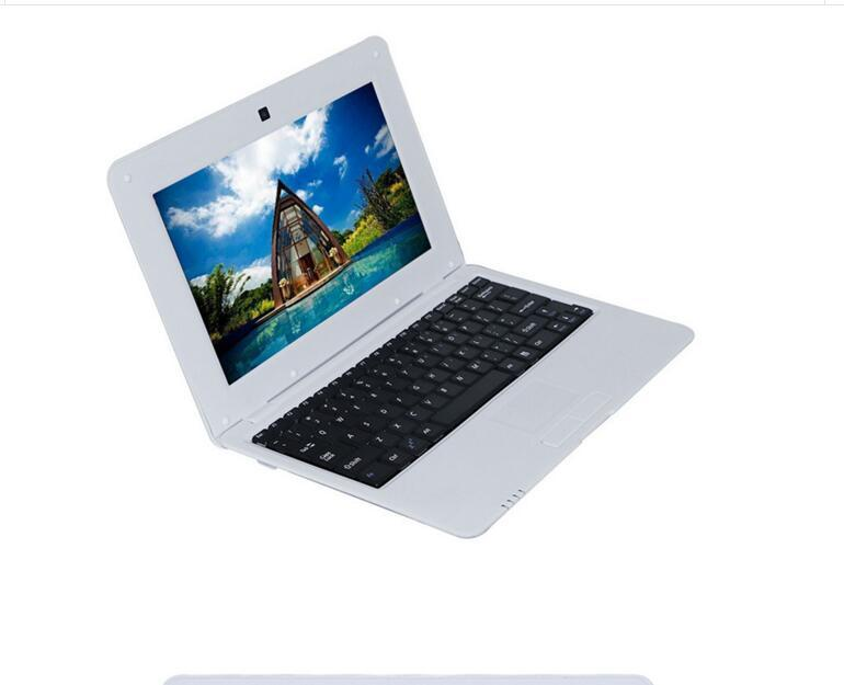 New laptop 10 inch Dual Core Mini Laptop Android OS dual core CPU 1.5GHZ HDMI WIFI 512+4GB /1G+8G Netbook