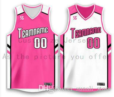 Пользовательские любое имя Любые рубашки номер Мужчины Женщины Lady Молодежные Дети Мальчики Баскетбол Трикотажные изделия Спорт, как фотографии вы предлагаете B078