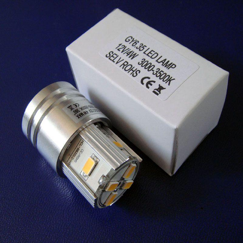 Высокое качество,ход GY6 12В 4Вт светодиодная лампа,ход GY6.35 светодиодный свет,Г6.35 чтение свет,Г6 12В,ход GY6.35 ламп,ход GY6.35 свет,бесплатная доставка 2шт/много