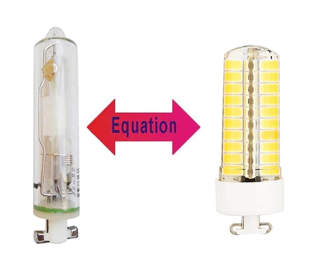 PGJ5 디밍 LED 전구 5W 220V 실리콘 램프 20W 할로겐 전구 동등한 등가 PGJ5 할로겐 램프