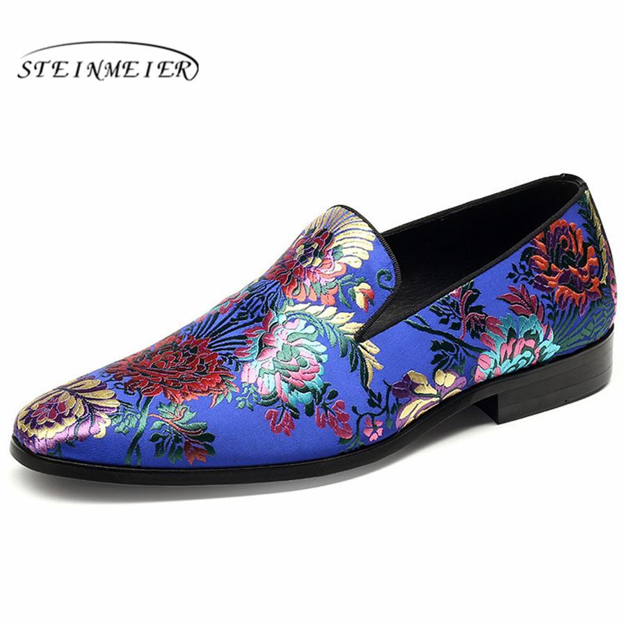 Para hombre zapatos de cuero formales, los hombres visten zapatos oxford para los hombres que se visten de la oficina de negocios de la boda sin cordones zapatos masculinos de hombre