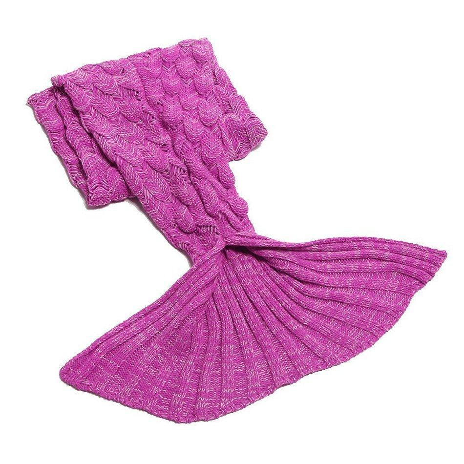 Koltuk Kapak Yetişkin Çocuklar İçin CAMMITEVER 9 Renkler Denizkızı Battaniye Yumuşak Denizkızı Kuyruk Nap Renkli Battaniye Uyku Relax