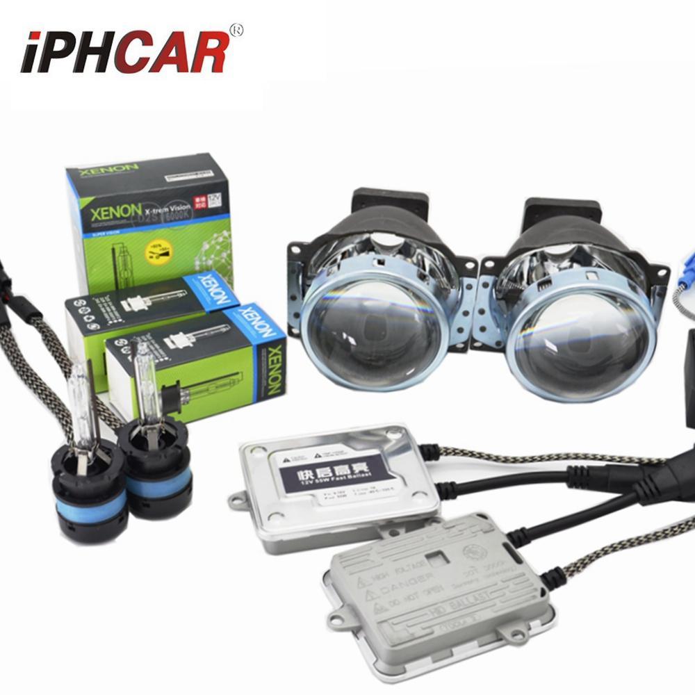 3,0 pouces HD Koito Q5 Bi Xenon Projecteur lentille 55W Démarrage rapide D2S 5000K kit xénon phare pour D1 D2 D3 D4 modify modèle de voiture