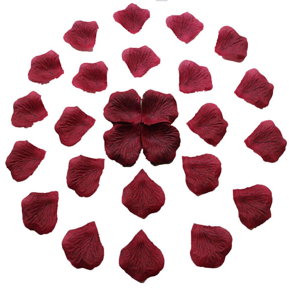 Rose Petals Confetti Simulation Table Supplies 100pcs Wedding Party Xmas Decor