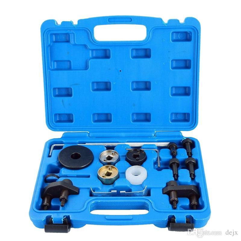 Freeshipping motor camshaft alinhamento de bloqueio kit de ferramentas de sincronização para audi vw skoda vp 1.8 2.0 tfsi ea888 sf0233