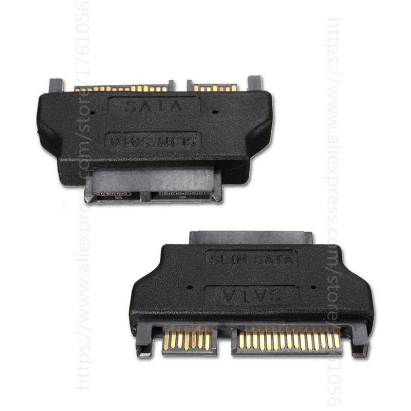 50шт SATA 22Pin к 16Pin Micro SATA адаптер 7 + 15 Serial ATA Мужской к 7+9 женский адаптеры разъем конвертер