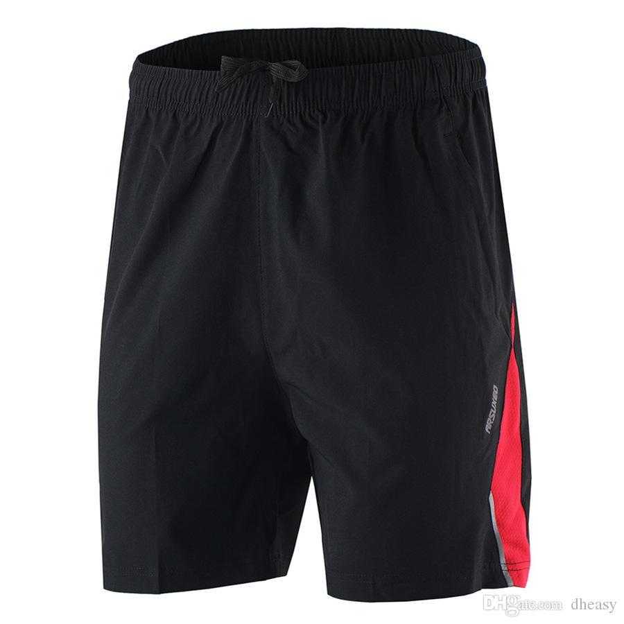 Venta al por mayor Pantalones cortos deportivos de verano con pantalones cortos para correr Hombres Gimnasio Entrenamiento físico Correr Pantalones cortos para correr Pantalones cortos Pantalones cortos al aire libre