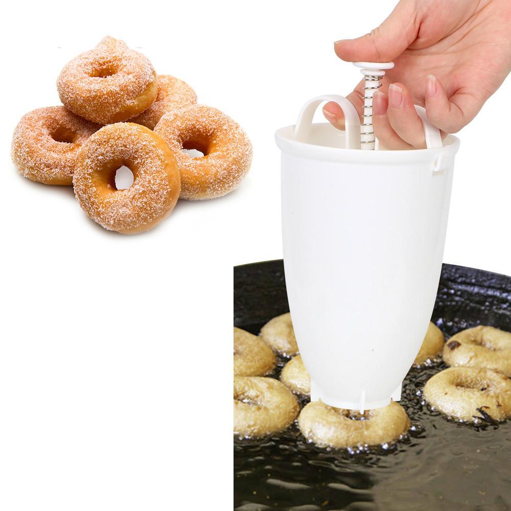 Donut Maker rapide Moule facile Donut portable Distributeur manuel Waffle Donut machine arabe Waffle plastique léger Frire