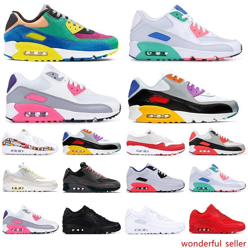 2020 90s 90 кроссовки для мужчин женская спортивная обувь VIOTECH BE TRUE инфракрасный южный пляж классические мужские кроссовки подушка поверхность кроссовки
