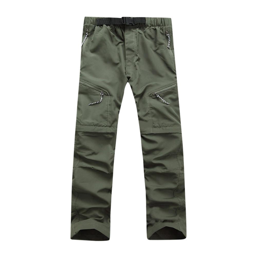 Mode Frühling Männer Sommer Quick Dry Outdoor Dünne Abnehmbare Wasserdichte Hosen Hosen hohe qualität W415