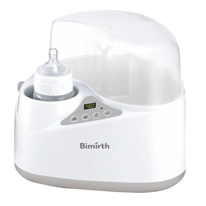 4-in-1 scalda biberon Sterilizzatori sbrinamento Impostazioni BPA-free di riscaldamento per alimenti per bambini, latte materno e Formula