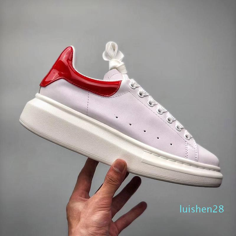 Designer Shoes Moda Luxo Mulheres Shoes Mens Oversized Sneakers bezerro Platform Sole Shoes Casual Box Shoelaces0128 adicionais
