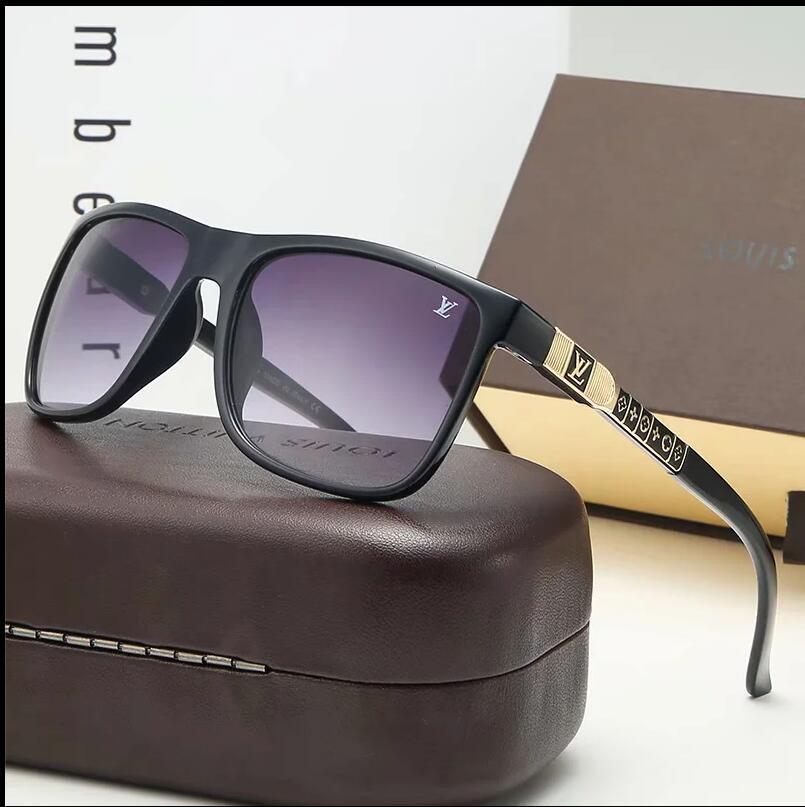HOT Sunglasses VintageLOUIS Pilot BandVUITTON UV400 Protectionlv Mens Womens Men Women Ben Sun Glasses With Original box 9930