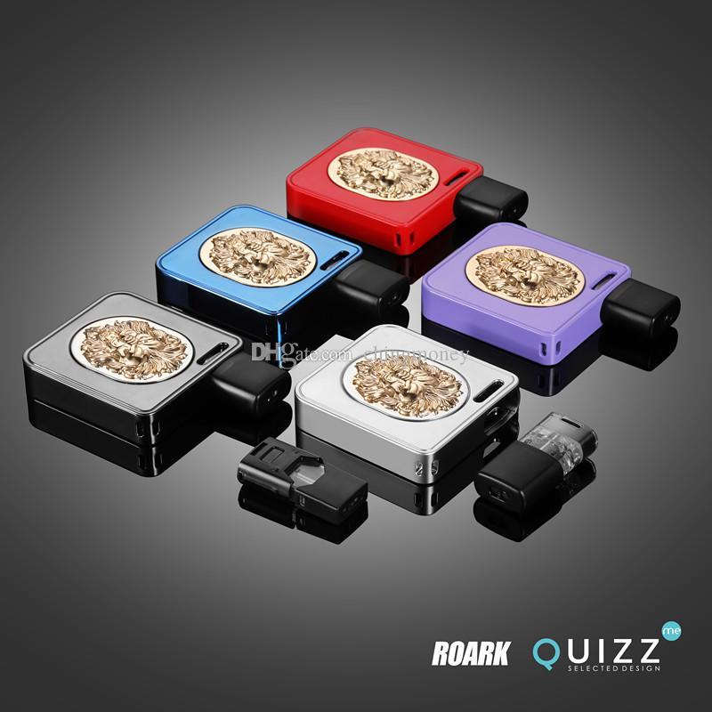 NEW RoarK Pod Battery 700mAh Battery 1.2ml Vape Cartridges Device Pods empty vape pen Vs PUFF bar Vgod Stig DHL free
