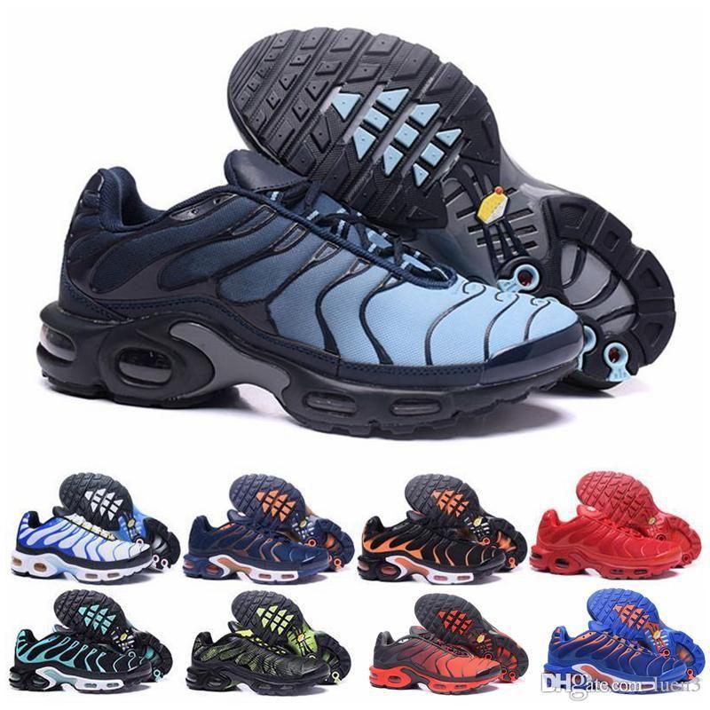 TN Gran barato para hombre TN de sh6 LN2 2020Men de los zapatos corrientes Ultra Deportes TN Requin zapatillas de deporte corrientes shoes40-45 c02 luc02