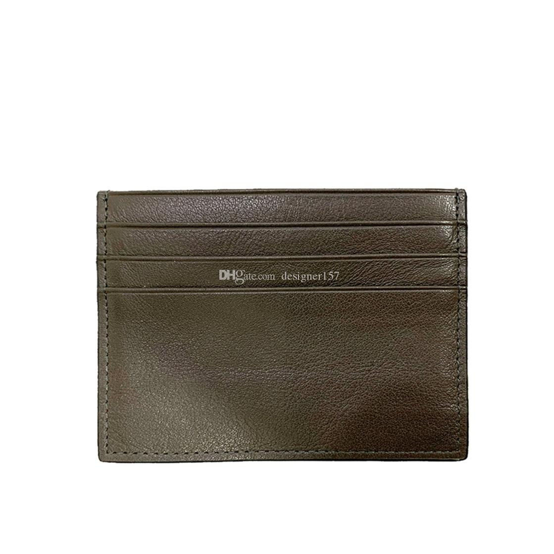 Card Holder Wallet Mens Key Pouch Womens Card Holder Handbags Leather zippy Holders Snake Purses Small Wallets Coin Purse Handbag 77 653