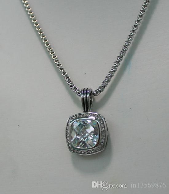 pour dames david gros diamants de cristal femmes des femmes de luxe chaînes pendant claviculaire courtes colliers chaînes chandail 7colors livraison gratuite