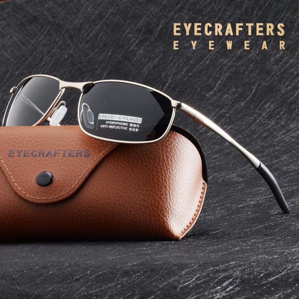 Lusso HD Occhiali Da Sole Polarizzati Per Mens Silver Metal Frame guida Pilota Occhiali Da Sole Eyewear Maschio Nero Occhiali Gafas De sol Y200415