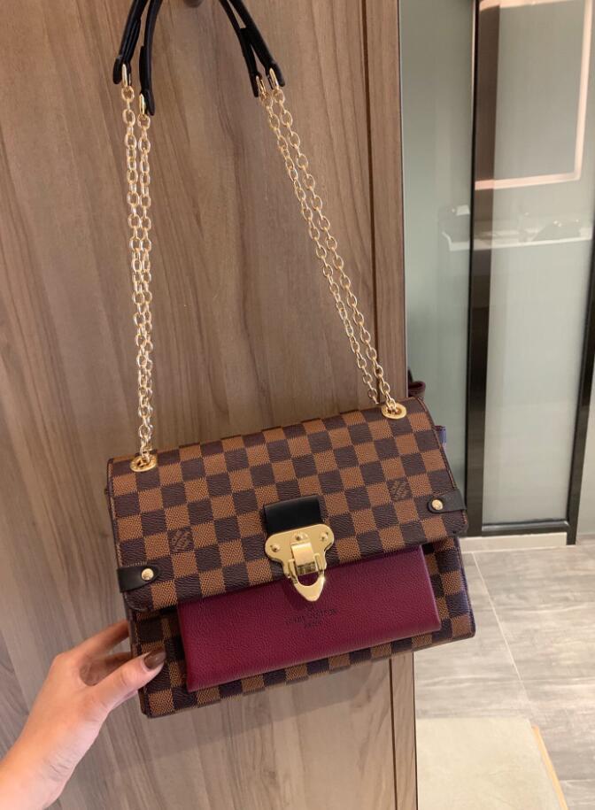 borsa a tracolla delle donne del cuoio genuino 2020 sacchetto di marca del progettista borsa delle signore borse a tracolla classica totes della Madonna nave veloce borse del raccoglitore 47