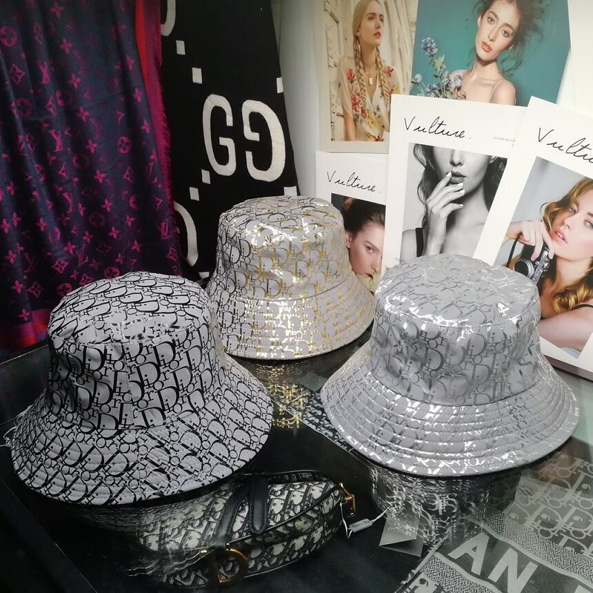 Frau Angeln Jagd Zeremonie Brief Strandschirmmütze Mode-Design Falteimer Hut Fischer Falten Männer Bowler-Hut der Männer verkaufen