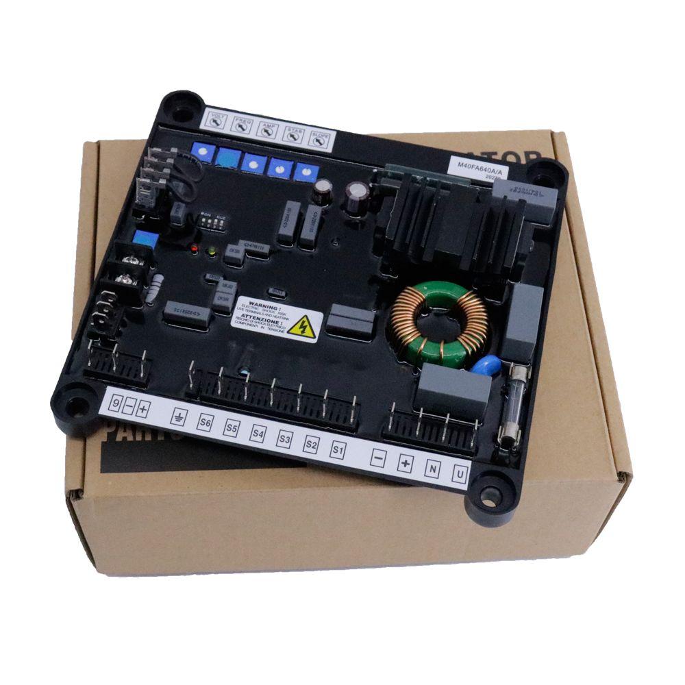 AVR M40FA640A Generatori sincroni del generatore di tensione automatico di alternatori serie MARCI MOTORI MJB