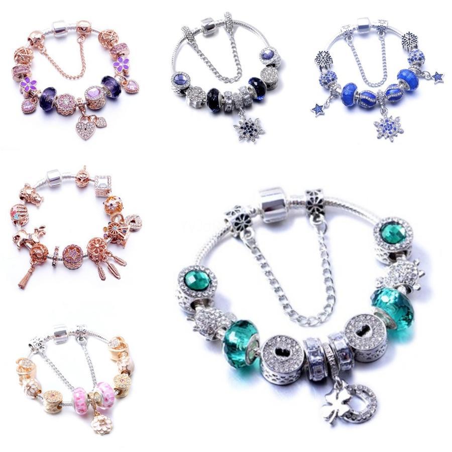 Mode Noosa Chunk Charm Bracelet Diy Snaps Bijoux Boutons Ginger Charm accrochage Bracelets Multilayer Bracelet pour les femmes Déclaration de bijoux # 521