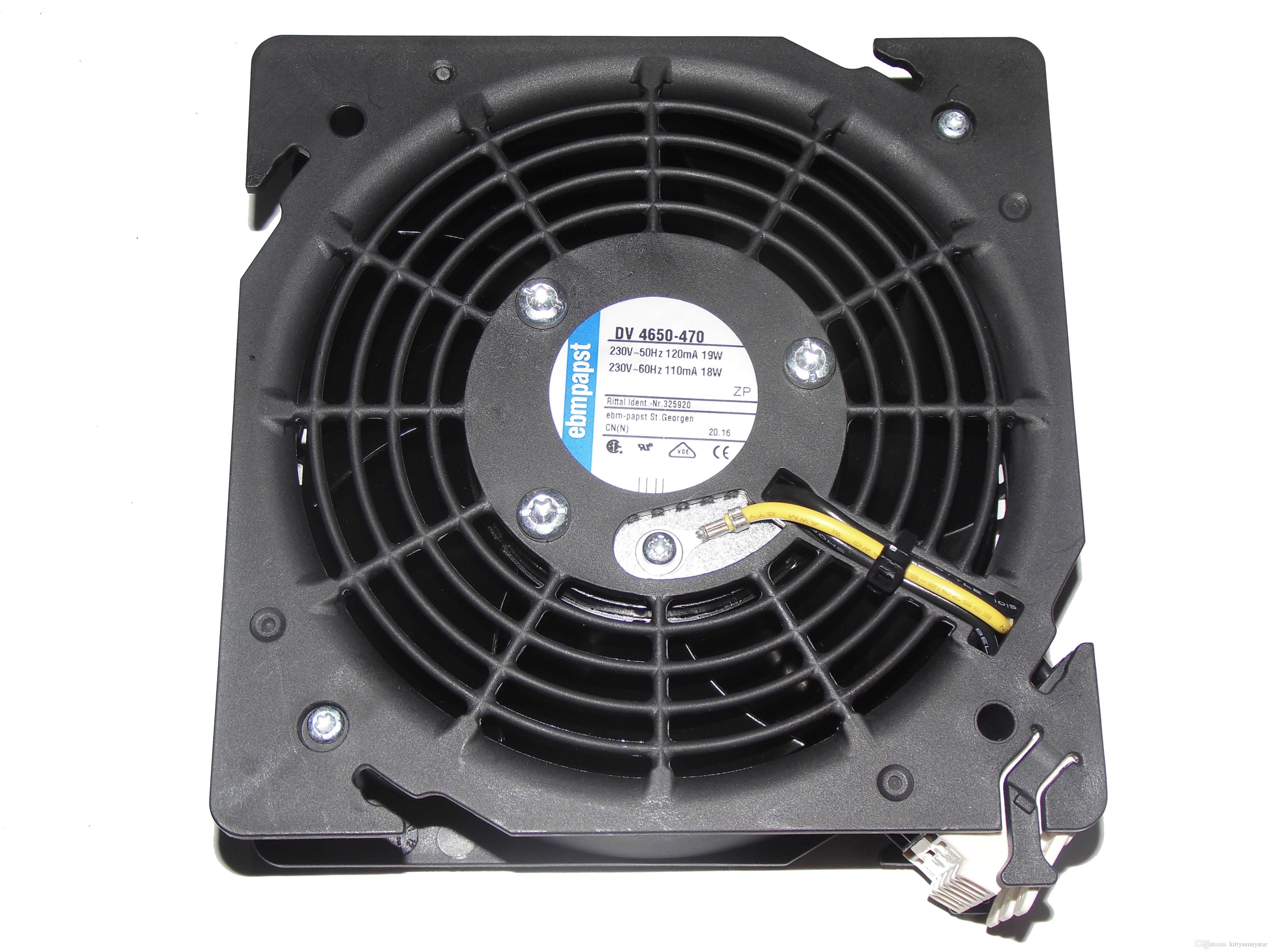 DV4650-470 230VAC 19 / 18W 50 / 60hz 120 / 110mA 2650rpm Fornecimento de ventilador de refrigeração do painel de proteção catódica UBA