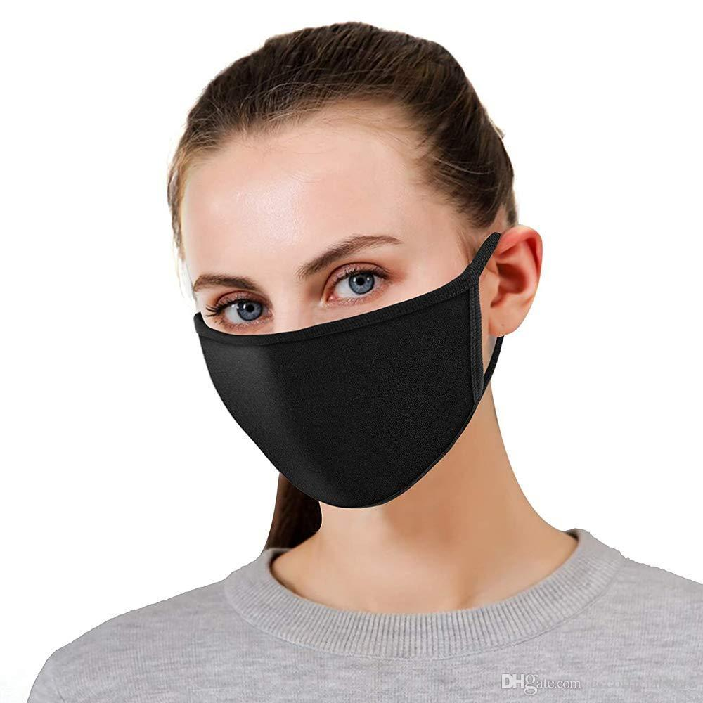 Unisex Adulto Mistura do algodão da orelha máscara loop rosto, Quente Anti Poeira Ski Ciclismo Segurança K-pop Máscara Moda Use (não para uso médico)