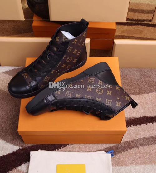 Hot ventes nouvelles chaussures arrivée marque hommes haut de haut de qualité supérieure de la mode hommes chaussures de sport boîte originale Livraison gratuite de size39-45 hommes VM238