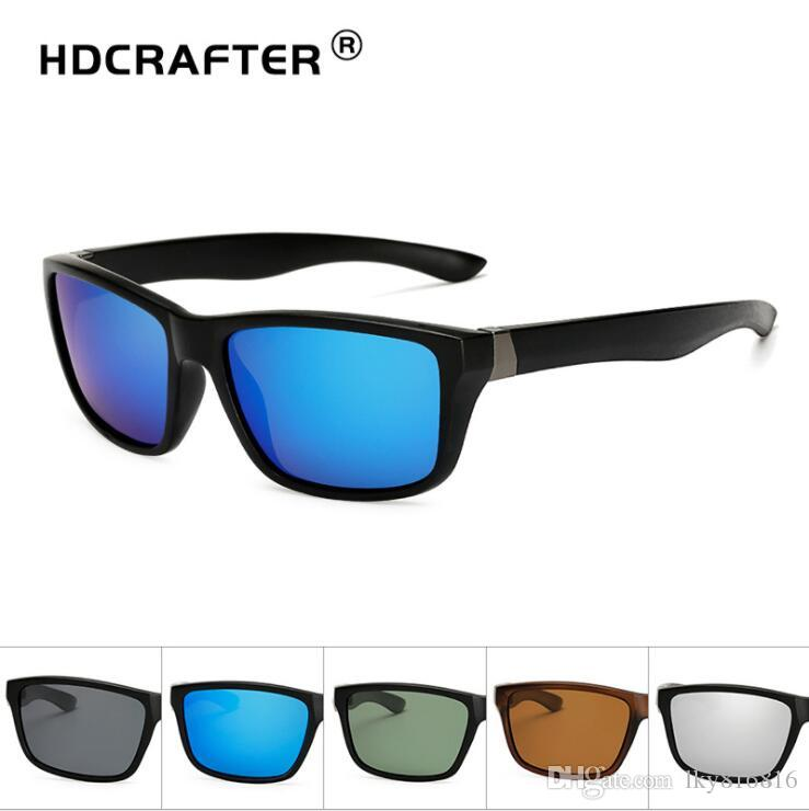 Polarized Riding Sunglasses Riding Outdoor Sports Sunglasses Anti-glare UV Protection Cool Personality Gift Unisex