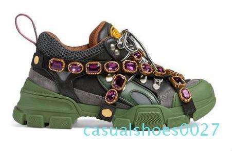 2Flashtrek spor ayakkabı çıkarılabilir kristaller açık yürüyüş spor ayakkabı çizme erkek ayakkabıları deri spor ayakkabıları r3 C27 tasarım büyük boy