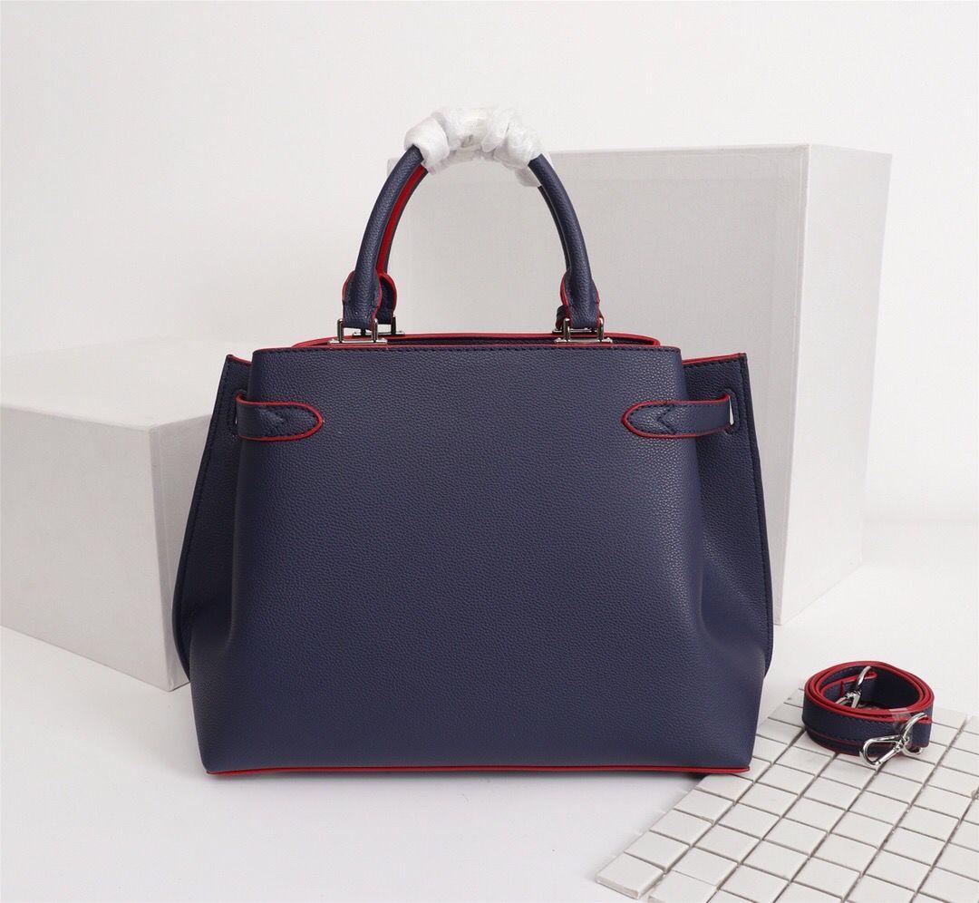 Lockme Alta Qualidade Moda Bolsas Estilo Clássico Tote Mulheres Saco Dia Day Genuine Marca Bolsas De Luxo Sacos De Design De Ombro UEFH