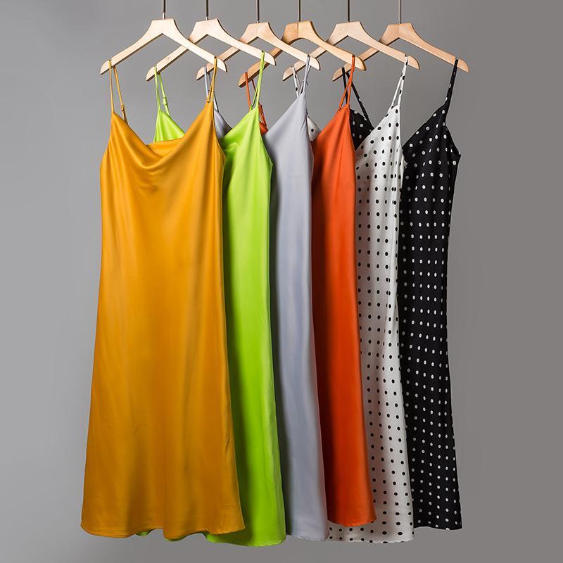 Casual kleider sommer kleid 2021 lange schulter slim damen kleidung sling sexy frauen