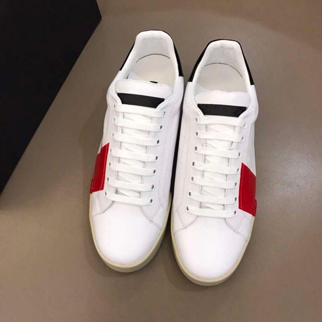 2019 hombres de los zapatos de lujo de Nueva VNR ocio zapatillas cordón blanco de lujo hasta los zapatos formadores de calidad superior con la caja Tamaño 38-45