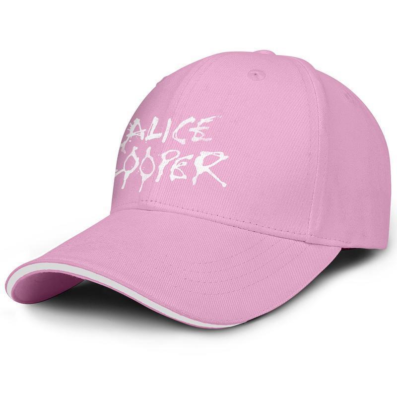 آليس كوبر روك باند عتيقة لعبة البيسبول القديمة تصميم قبعة فريق ريترو مدرسة موسيقى ريد هارت القوات الخاصة