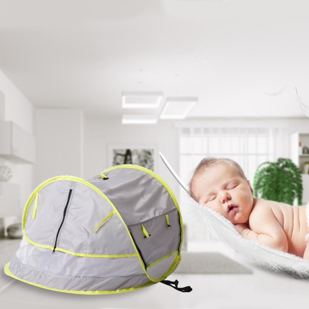 Baby Travel Bed Portable Baby Beach Tent UPF 50+ Sun Shelter Tent ...