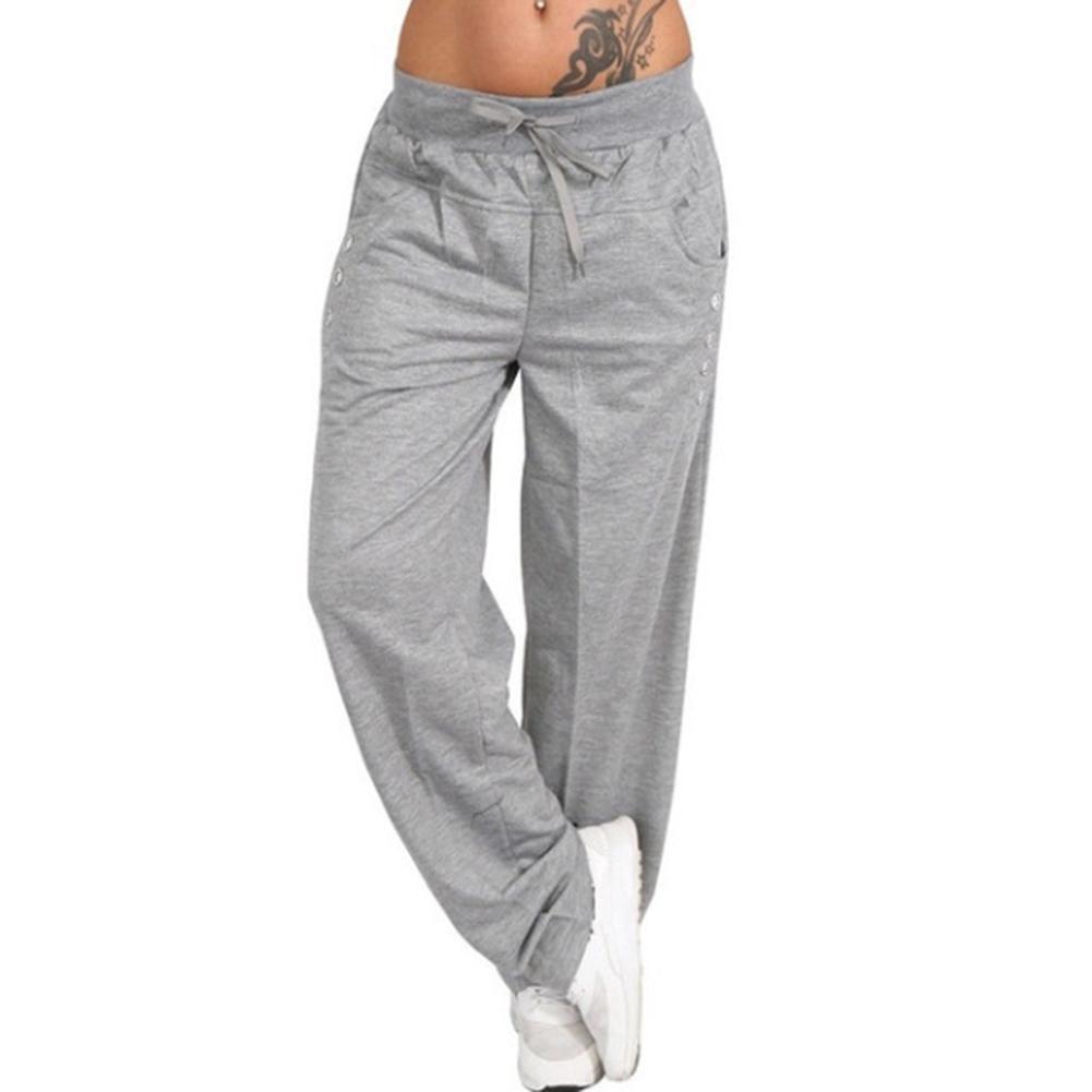 2021 Womens Loose Sport Harem Pants Wide Leg High Waist Lace Up Straight Plus Size Sweatpants Joggers Trousers Pantalon Femme 2019 From Balljoy 13 66 Dhgate Com