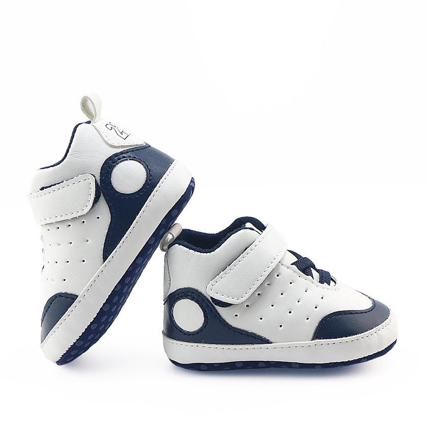 30 Pairs 0-1 Years Baby Boy Girl Casual High-top Sports Shoes Wholesle Soft-soled Non-slip Toddler Sneakers First Walkers