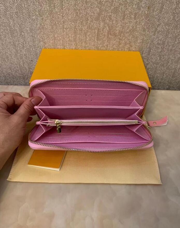 Держатель модельер кредитной карты высокого качества классического тиснения leathere кошелек сложенных банкноты и чеки сумки кошелек кошелек коробка распределения