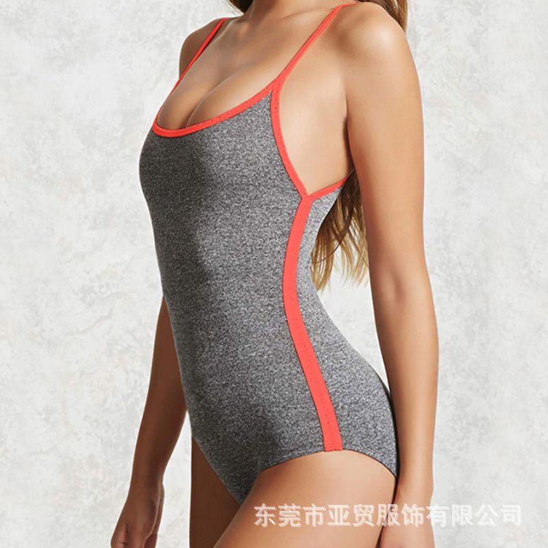 Siamese Yoga Abbigliamento Sling Plasticità stretta Altezza Bomb girocollo abbigliamento fitness Triangle Big Lu Indietro Air