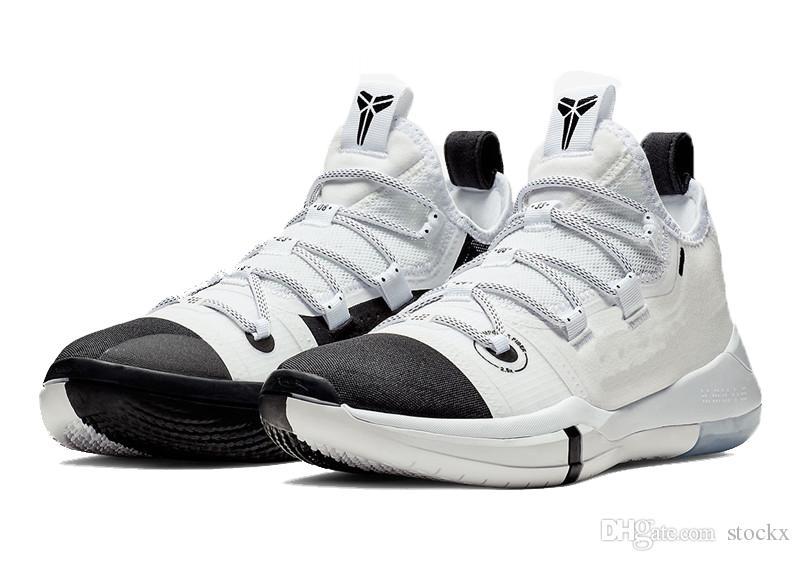 New Kobe Black Toe Basketball Shoes
