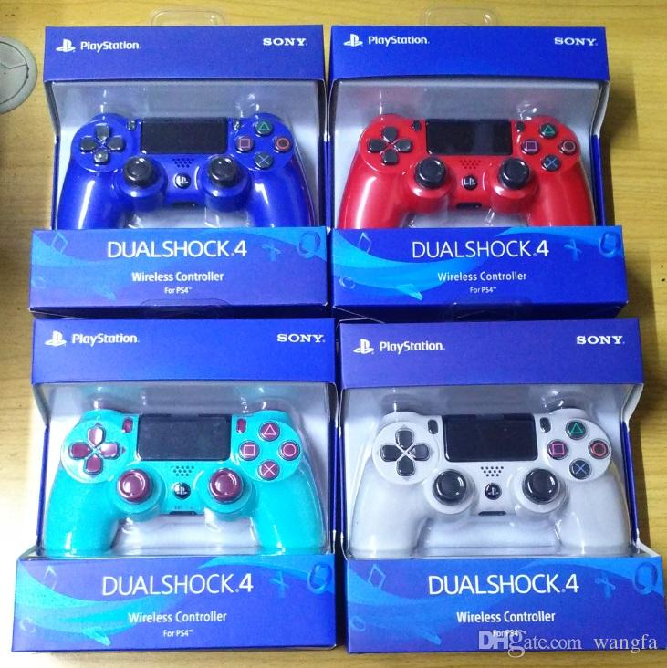 22 colors Wireless Controller SHOCK 4 Gamepad for Sony PS4 Play Station Vibration Joystick With Retail box Game Controller best Quality