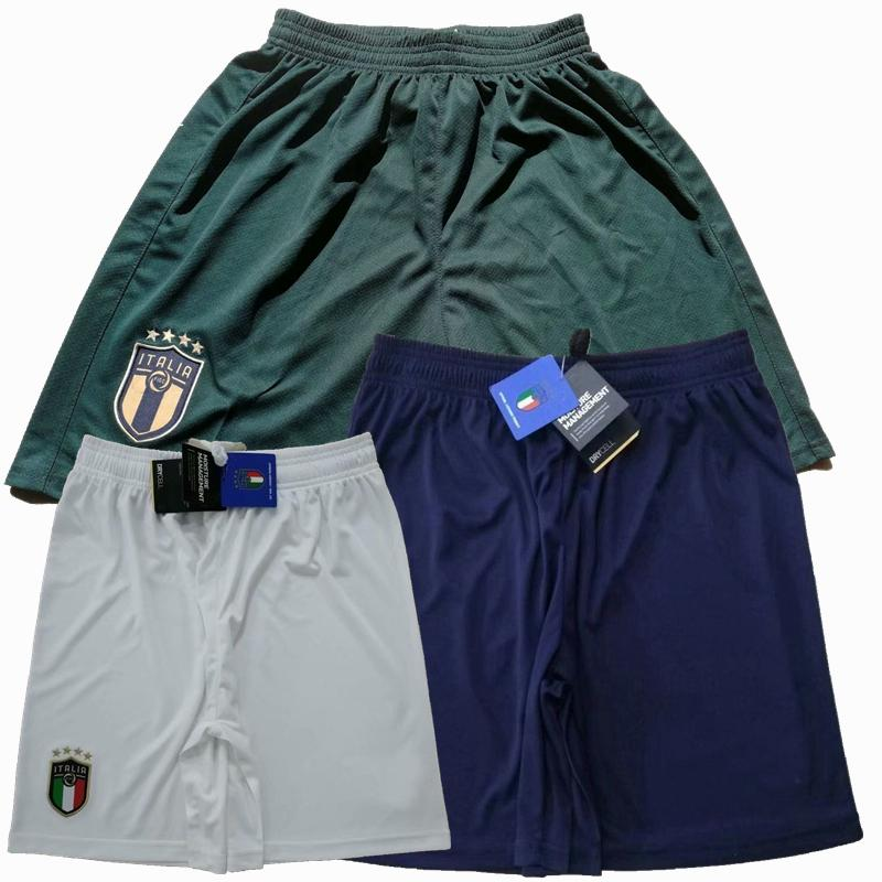 2019 2020 2021 Italy Soccer Shorts SENSI R.BAGGIO INSIGNE VERRATTI JORGINHO 20 21 home away 3rd football Sports shorts pants S-2XL