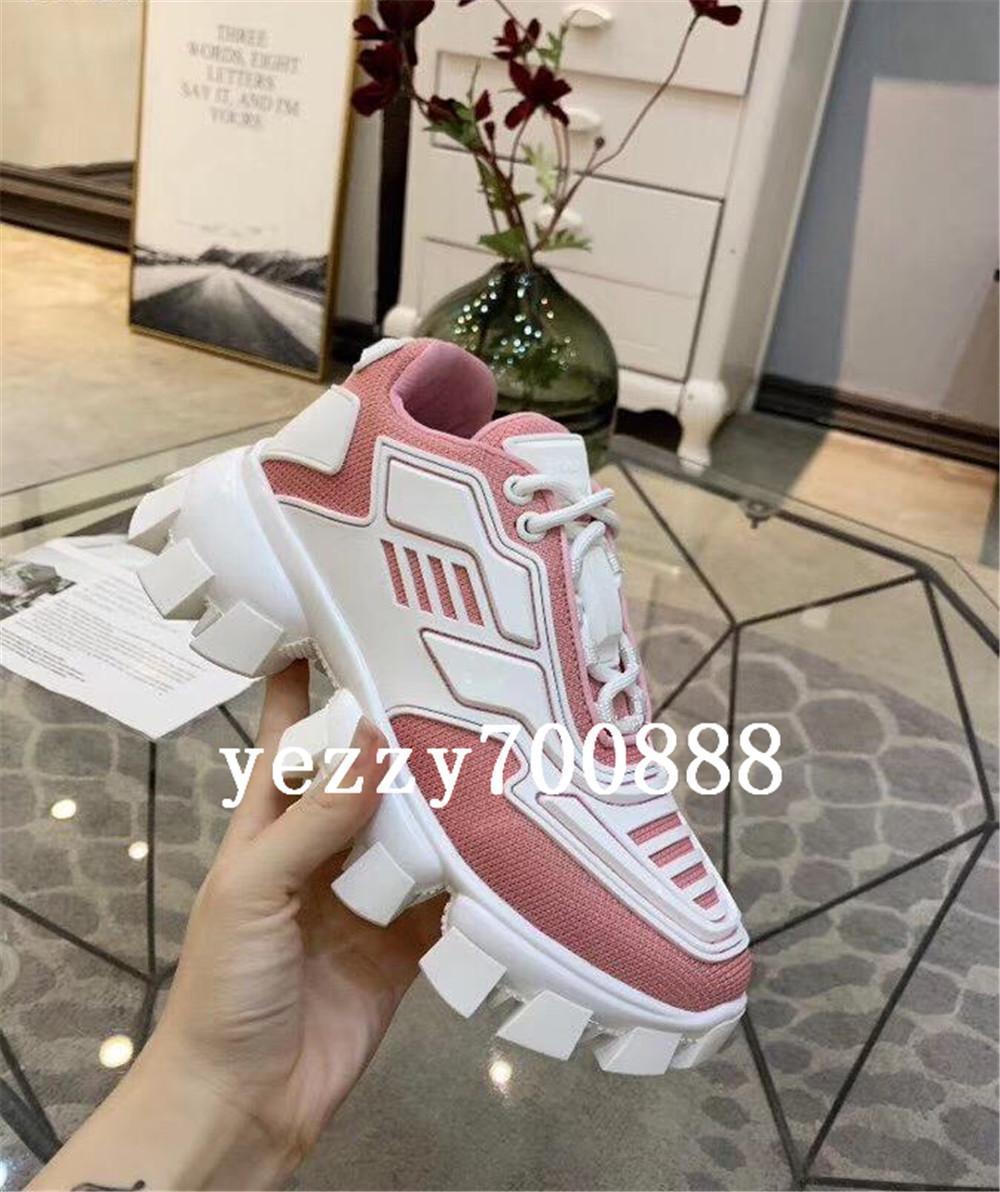 2019 chaussures nouveau concepteur chaud hommes et femmes Cloudbust chaussures de Thunder design en maille travestissement surdimensionné semelle en caoutchouc léger 3D fdzhlzj casual