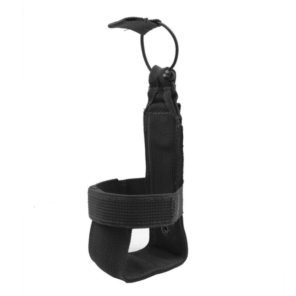 10*7cm Military Tactical Water Bottle Pouch Men Women Nylon Adjustable Magic Tape Camping Hiking Kettle Bag Outdoor Tool