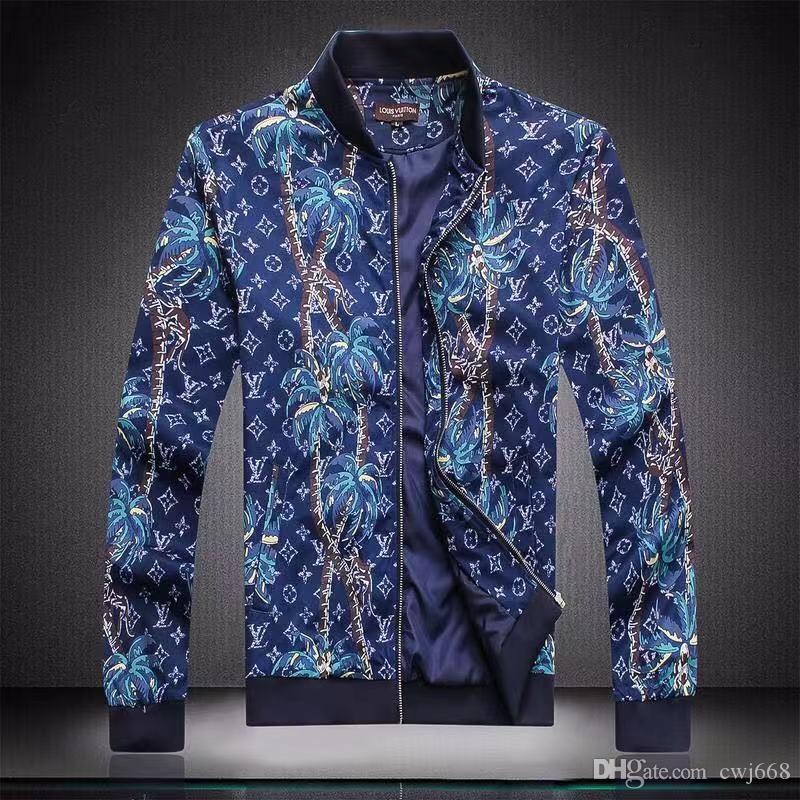 marca carta chaqueta 19SS moda de los hombres capa de la capa del otoño de diseño con capucha cazadora cremallera ropa al aire libre de ropa deportiva de los hombres con capucha