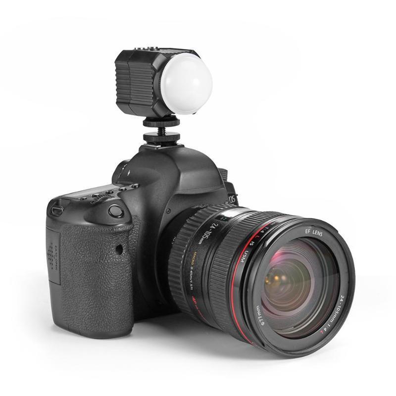 IPX8 водонепроницаемый камеры фото видео заливки света лампы 60 м подводное дайвинг фотографии освещение подводный светодиодный свет
