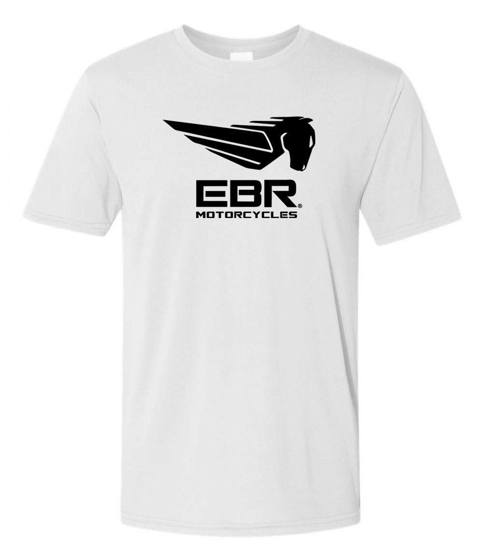 EBR Erik Buell Racing Motorcycles Grey T-shirt S to 3XL