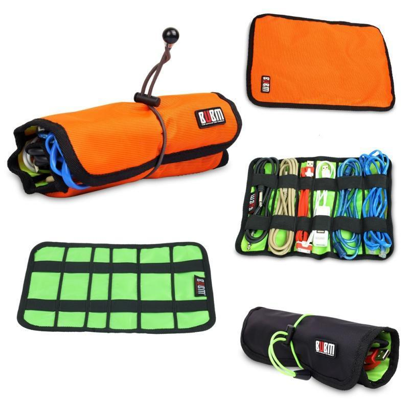 Hot Sales Factory Price! Cable Organizer System Kit Case storage Bag for USB cable Earphone Pen Batteries
